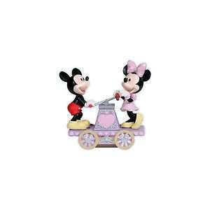 Precious Moments 114705 Disney Collection Mickey & Minie Together We