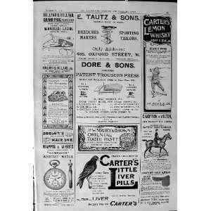1900 Advertisement Tautz Carters Liver Pills Carters