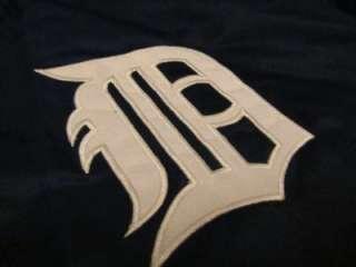 80s Starter Mens Detroit Tigers MLB Baseball Satin Swag Jacket Sz XL