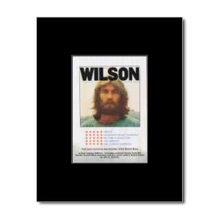 DENNIS WILSON   Pacific Ocean Blue   Black Matted Mini Poster
