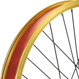 Bmx Bike Wheels/wheelset (Wide Rim) Gold