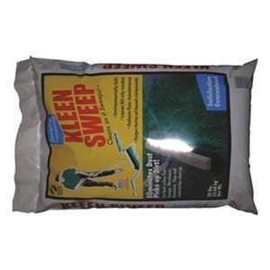 50lb Poly Bag Green Floor Sweeping Compound Home