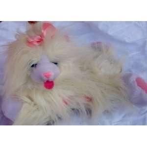 11 Plush Talking White Kitty Cat Kitty Magic Doll Toy