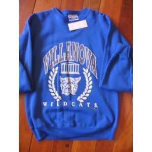 Villanova Wildcat Sweatshirt Vintage Adult Medium Crew