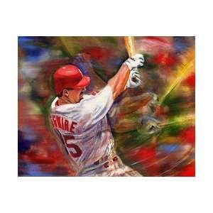 Mark McGwire St. Louis Cardinals Large Giclee Sports