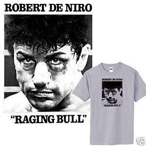 Raging Bull Robert De Niro 70s boxing MMA small 3XL