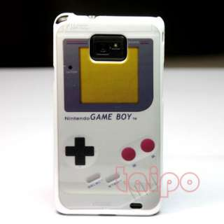 GAME BOY HARD BACK PLASTIC CASE SKIN COVER FOR SAMSUNG GALAXY S II S2