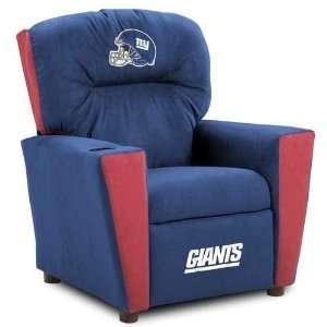New York Giants NFL Team Logo Kids Recliner Sports