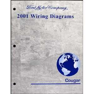 : 2001 Mercury Cougar Wiring Diagram Manual Original: Mercury: Books