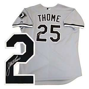 Jim Thome Autographed / Signed Chicago White Sox Jersey