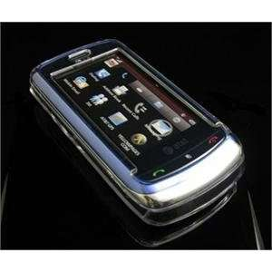 CLEAR Hard Plastic Full View Cover Case w/ Screen Protector for LG