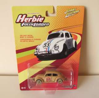 DISNEY JOHNNY LIGHTNING HERBIE FULLY LOADED DEMOLITION 53 CAR MINT 1