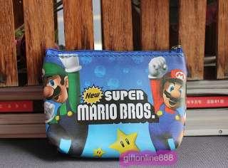 Nintendo Super Mario set coin pouch purse bag NB 02