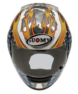 Suomy Defender Hawaiian Flower Full Face Helmet Small