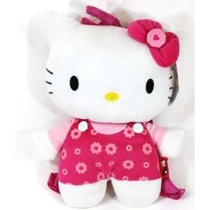 Hello Kitty Flower Plush Backpack Toys & Games