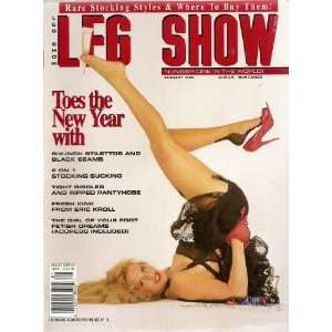 LEG SHOW MAGAZINE JANUARY 1994: LEG SHOW:  Books