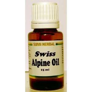 SWISS ALPINE OIL   Pain Relief for Muscles and Tissues, and Natural