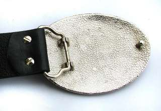 Superman logo fashion Metal Buckle leather Belt BSU4B