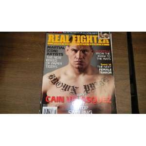 Magazine Issue 28 2010 Cain Velasquez on Cover real fighter Books