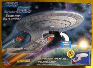 Star TrekNext Gen Enterprise D Ship Playmates MIB