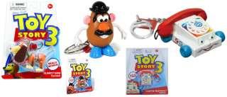 Style to Pick Toy Story 3 Keychains Slinky Dog Mr. Potato Head
