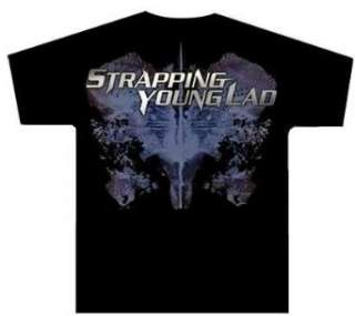 STRAPPING YOUNG LAD   Hell Yeah   Black T shirt Clothing