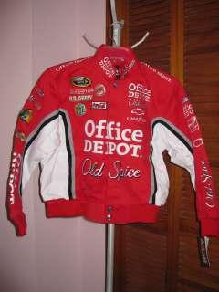 Chase Authentics Tony Stewart#14 Stewart Haas Racing Jacket Size Youth