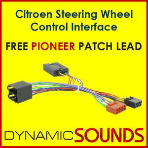 PIONEER Citroen C2, C3, C5, C8 Steering Wheel Control Interface