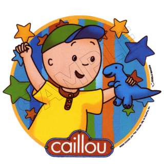 Caillou Edible Cake Topper