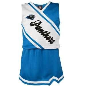 Reebok Carolina Panthers Youth Girls Panther Blue White 2