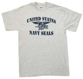 U.S. Navy SEALs Stencil T shirt Clothing