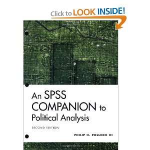 to Political Analysis (9781568029962): Philip H. Pollock III: Books