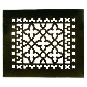 GR1BG Black 12 x 10 Cast Iron Decorative Grille Home Improvement