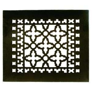 GR1BG Black 12 x 10 Cast Iron Decorative Grille