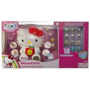 Squinkies Hello Kitty Dispenser + Bonus Pack Gift Set (18 Squinkies