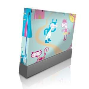 Characters Design Skin Decal Sticker for Nintendo Wii Body