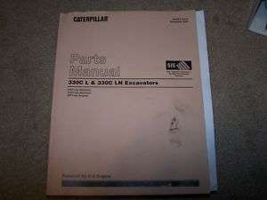 CATERPILLAR EXCAVATOR 330C L & LN Parts Manual 330