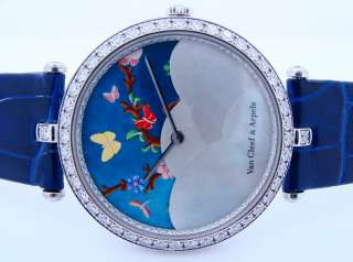 Van Cleef & Arpels Lady Centenaire 18K White Gold Diamond Watch