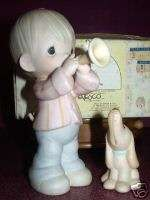 1984 Precious Moments HE IS MY SONG 1st Mark Dove MIB