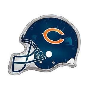 Chicago Bears Helmet Jumbo 26 Foil Balloon Party Supplies