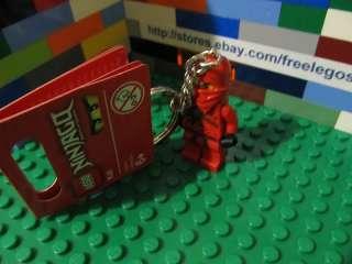 LEGO Ninjago KAI minifigure Key Chain   BRAND NEW with TAGS