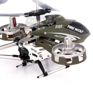 Channel LED RC Helicopter 4CH Remote/Radio Control with GYRO Metal