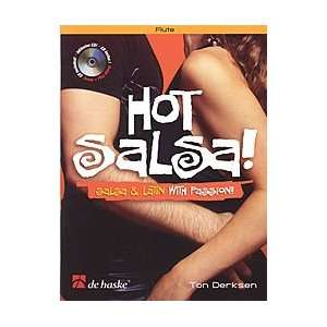 Hot Salsa   Flute (Book/CD) Musical Instruments