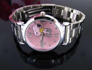 Cute Peanuts Gang Snoopy Stainless steel Watch S02P