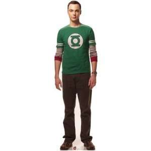 The Big Bang Theory Sheldon Cooper 74 X 21 Inch Cardboard