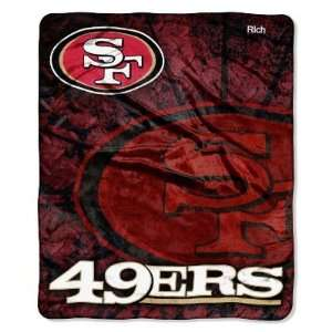 Personalized San Francisco 49ers Blanket Gift