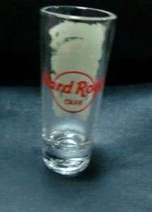 HARD ROCK CAFE CLEAR CITY SHOT GLASS MAKATI NO PHILIPPINE BRAND NEW