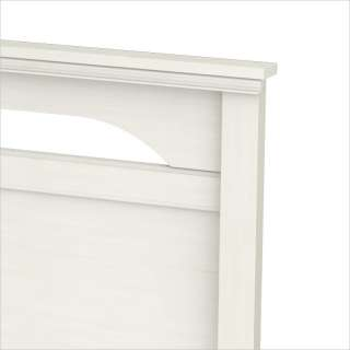 South Shore Dover Full / Queen Panel White Wash Finish Headboard