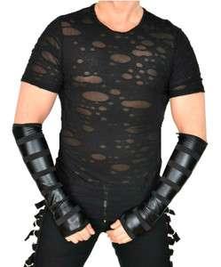 SHRINE GOTHIC CYBER MAD MAX PUNK EMO GOTH STEAMPUNK T SHIRT TEE