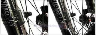 New Bicycle Bike Computer LCD Odometer Speedometer 258
